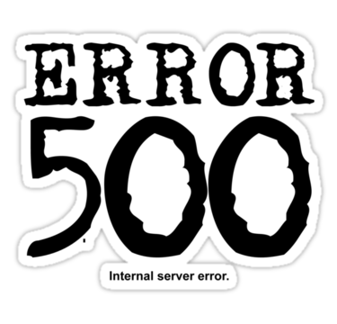 how to solve 500 internal server error in php